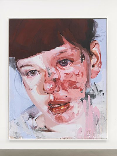 the concept of the perfect female body in plan a painting by jenny saville