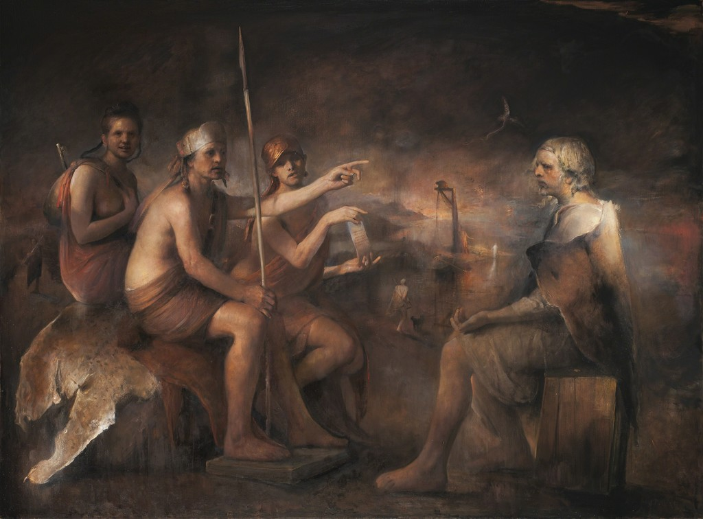 Одд Нердрум (Odd Nerdrum). Современное искусство Норвегии. Современная живопись. The Last Procedure, 2012-2013