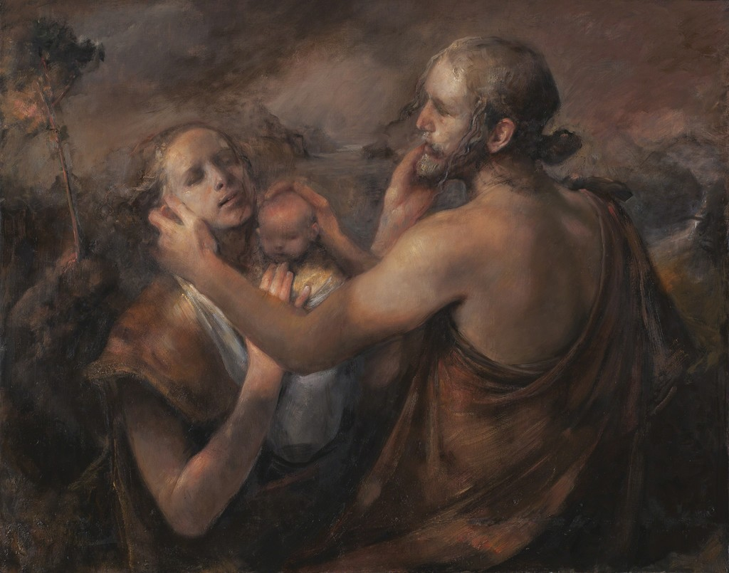 Одд Нердрум (Odd Nerdrum). Современное искусство Норвегии. Современная живопись. The Bridge, 2014