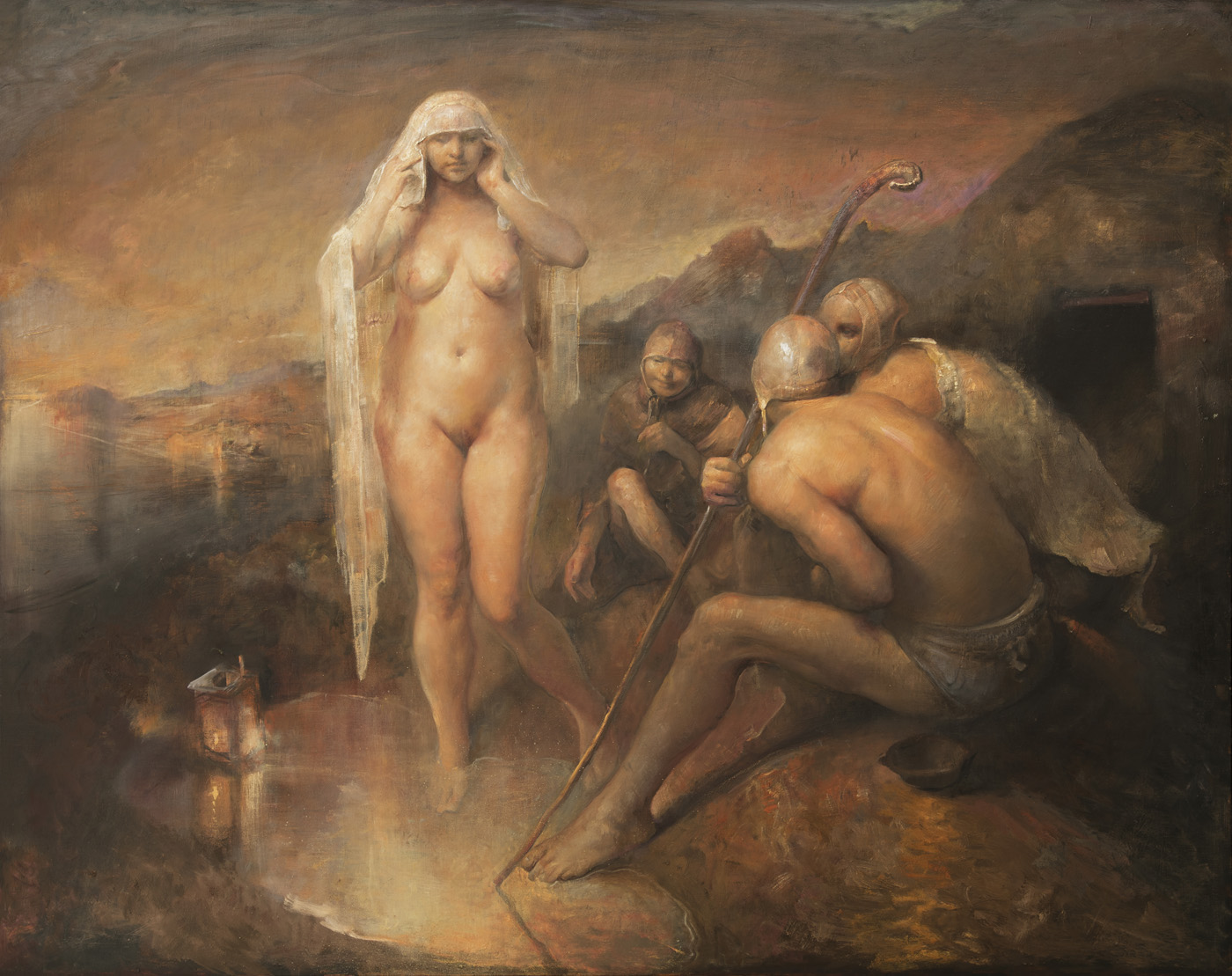 Одд Нердрум (Odd Nerdrum). Современное искусство Скандинавии, Норвегии. Look at my Beauty