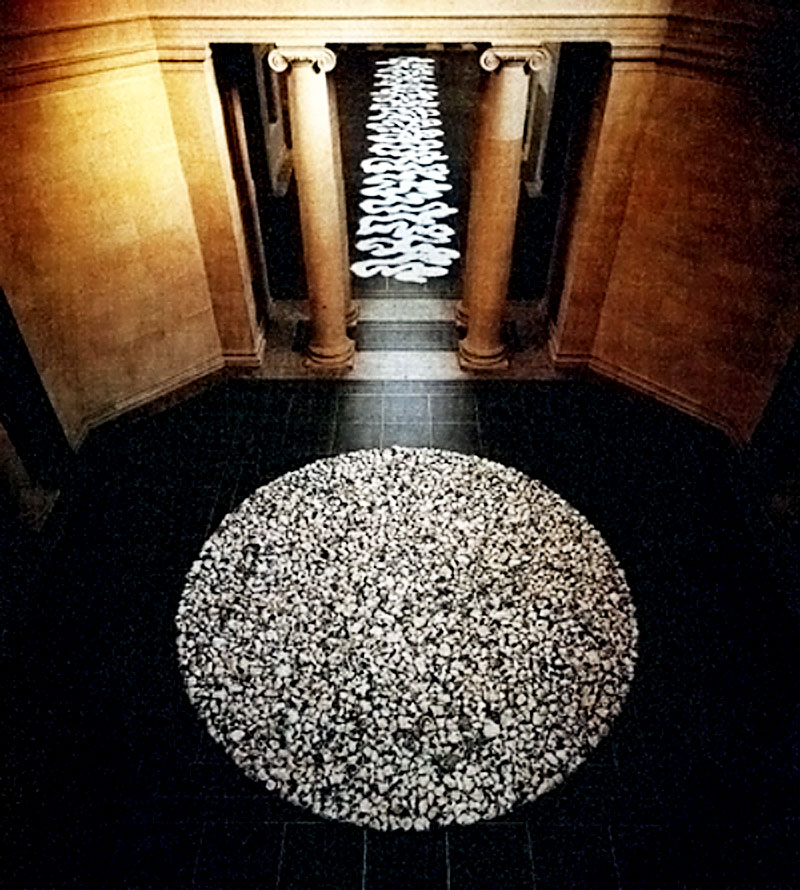 an analysis of conceptual art by richard long Born in bristol, england on 2 june 1945, richard long studied at the west of england college of art, bristol, from 1962 to 1965, and at st martin's school of art, london, from 1966 to 1968 in 1964, long was already making land art and exploring the idea of impermanence, and started to use walking as an art form in 1967.